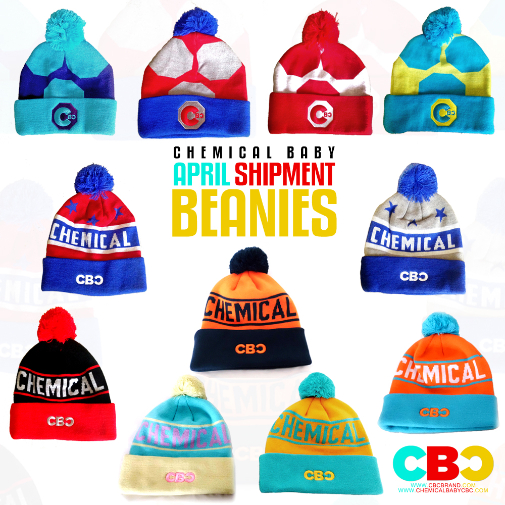 april shipment beanies